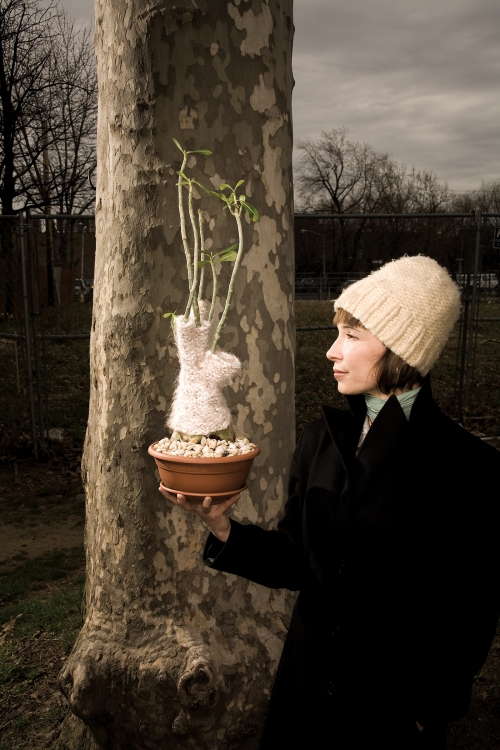 Elizabeth Demaray, Sweaters For Plants, Rutgers Magazine